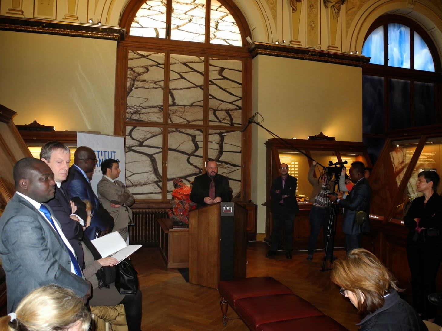 Exposition Gabonionta NHM - Wien 2014
