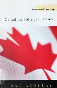 Canadian Political Parties de Dan Azoulay (Photo SCD UP).