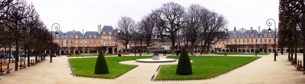 La Place des Vosges à Paris, anciennement La Place Royale. Flickr Andy Van Yperen-De Deyne