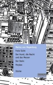 Edition allemande des pièces de Marius Von Mayenburg (source : Amazon.de)