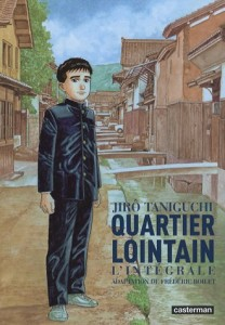 Quartier Lointain / J. Taniguchi : couverture. Ed. Casterman (source : Amazon.fr).