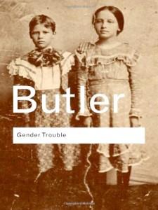 Couverture américaine de Trouble dans le genre de Judith Butler (source amazon.com)
