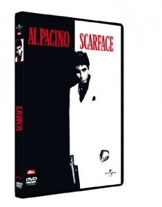 DVD - Scarface / B. De Palma (source : Amazon.fr).