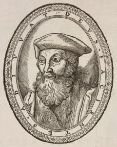 Tiraqueau Portrait gravé