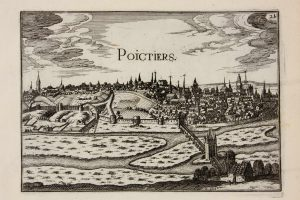 Plans et profilz des principales villes de la province de Poictou / Christophe Tassin .- Paris, XVIIe s. (Poitiers, Bibliothèques universitaires, Fonds ancien, FAP 4345)