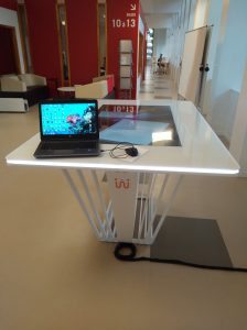 Table tactile interactive A. Hilt 2017