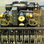 German Lorenz cipher machine, used in World War II to encrypt very-high-level general staff messages. Wikipedia EN