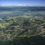 Vue aérienne du LHC. Source : CERN.