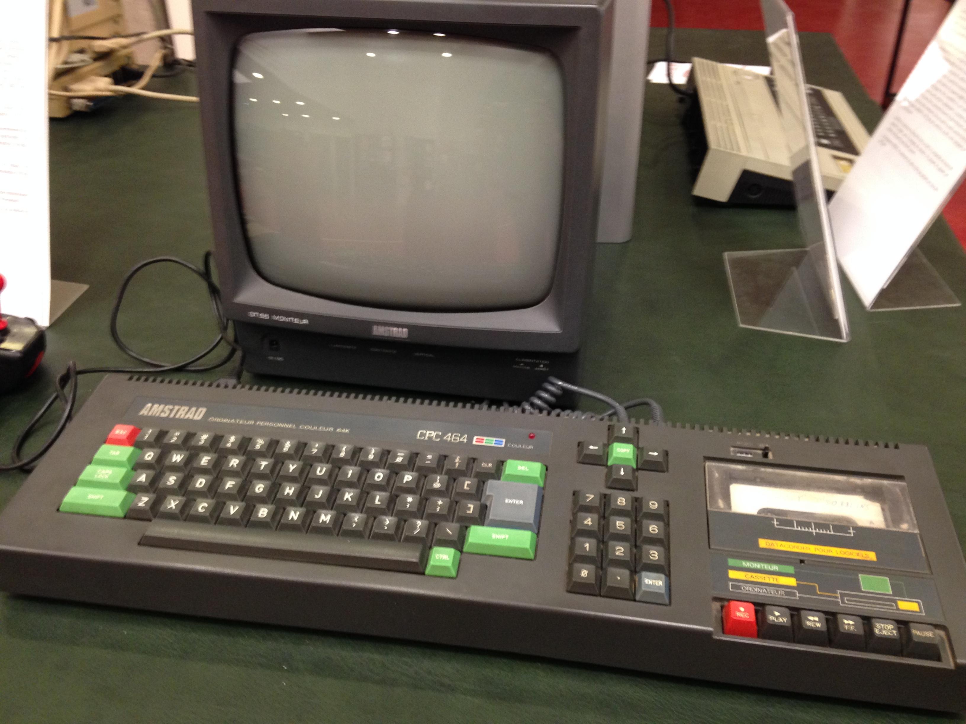 Amstrad CPC 464, 1984
