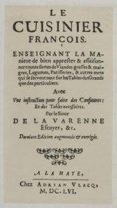 edition 1656 françois le cuisinier